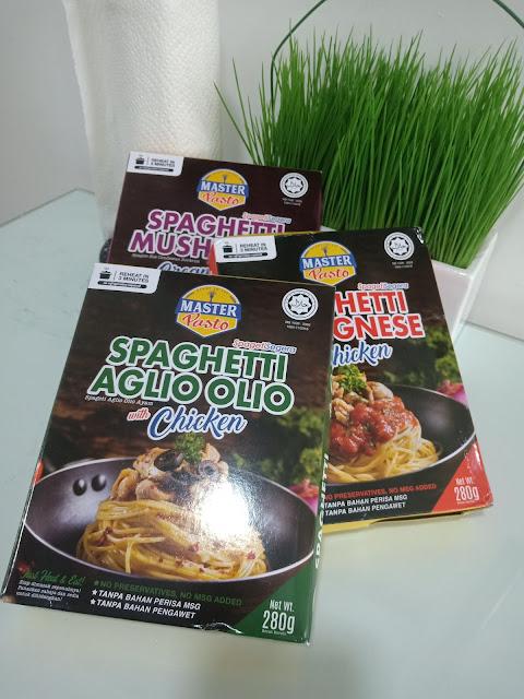 Master Pasto Spaghetti Segera Yang Sedap Dan Mudah Disediakan