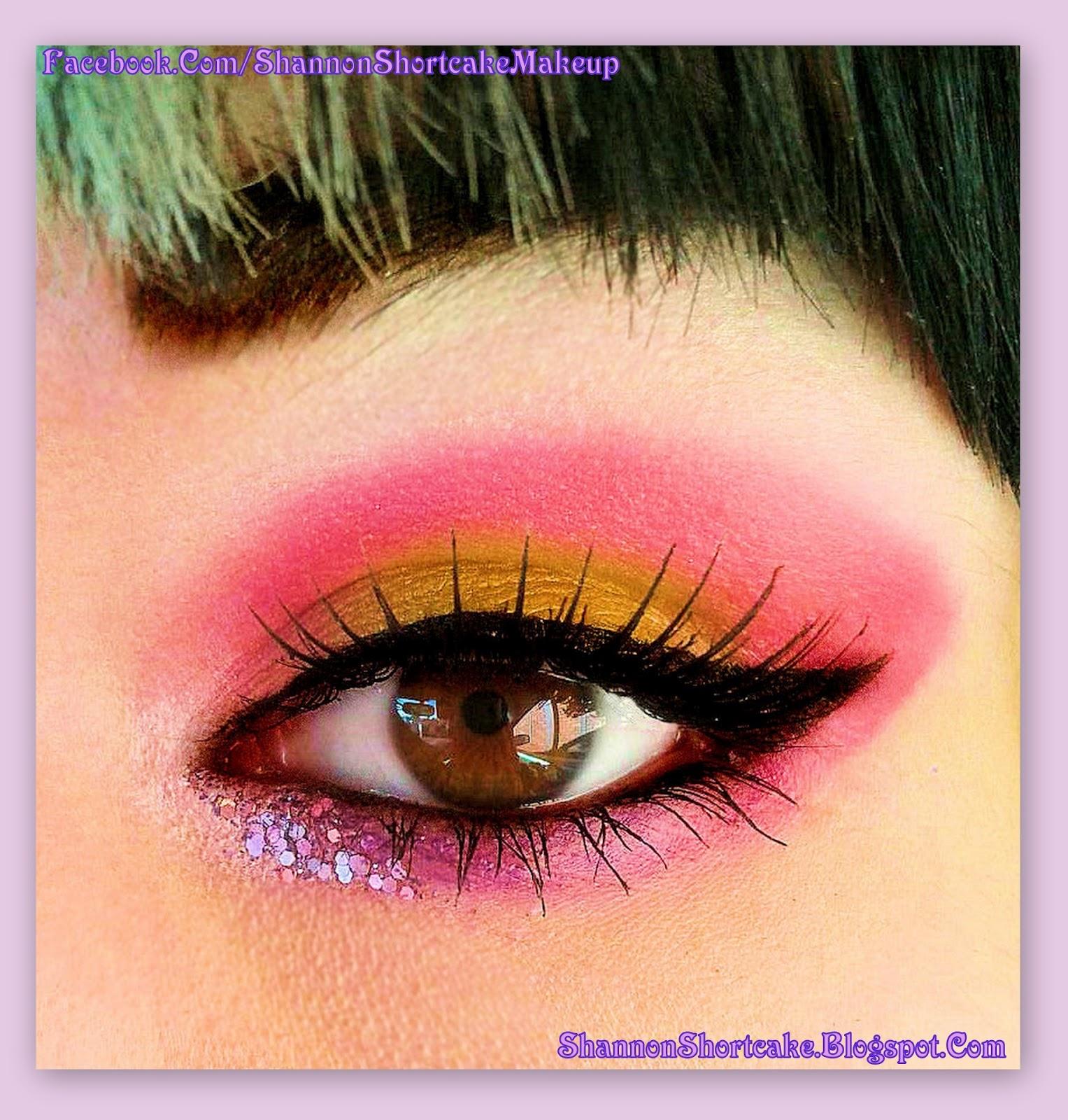 Shannon Shortcake (Makeup Addict): Sprinkle inspired look