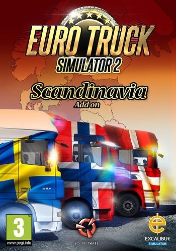 Euro Truck Simulator 2 Scandinavia - Katılımsız Oyun cover