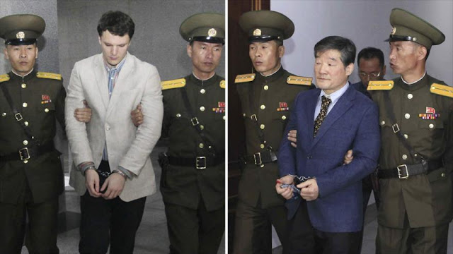 """Expertos: Pyongyang utiliza la """"diplomacia de rehenes"""" ante EEUU"""