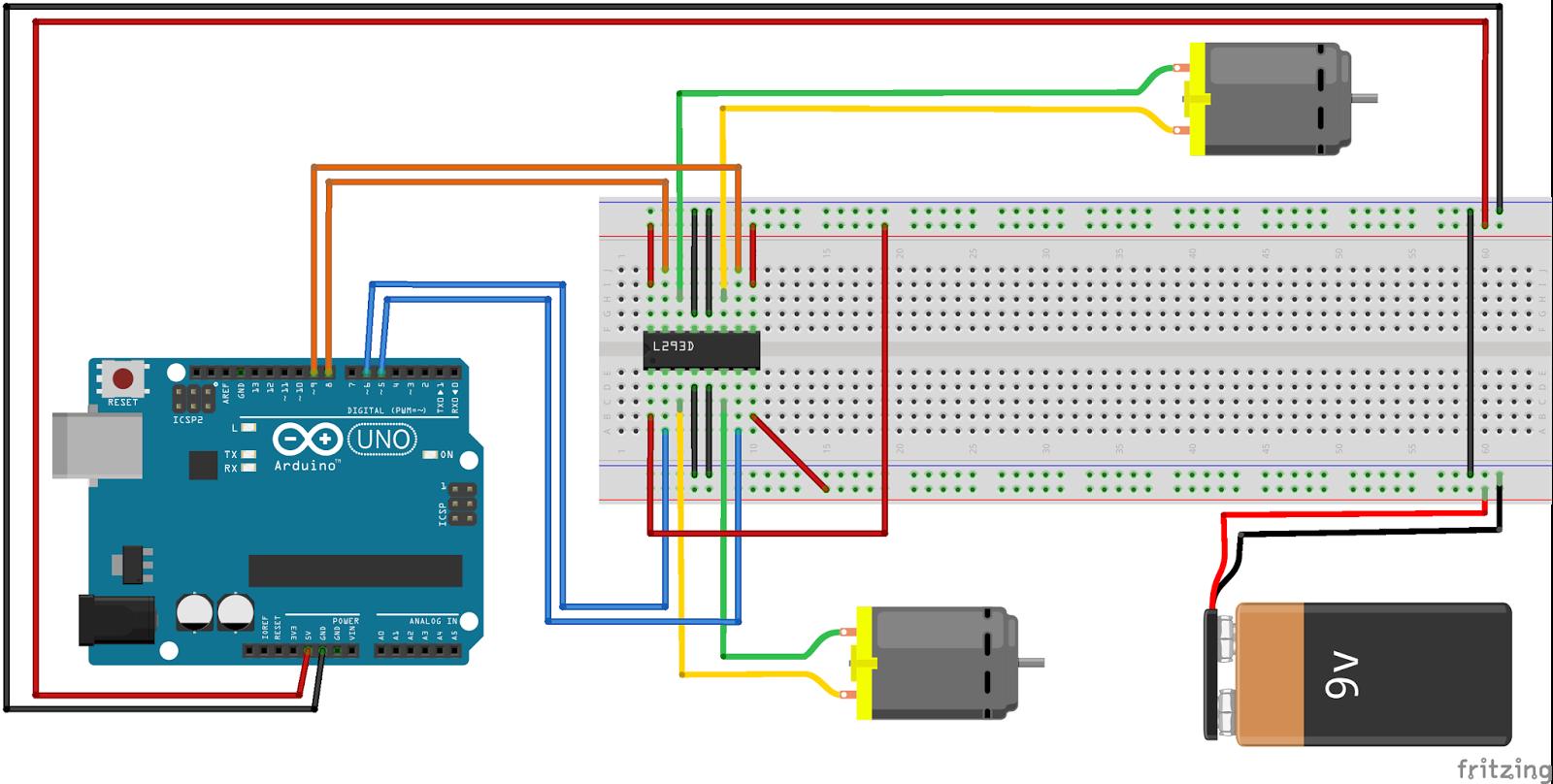 Miraculous Moenimedia Arduino Motor Aansturen Met L293D Deel 2 Wiring Database Pengheclesi4X4Andersnl