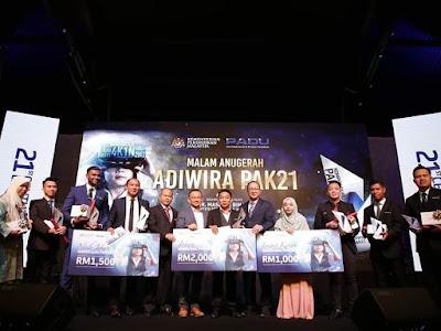 10 Finalis Adiwira PAK21