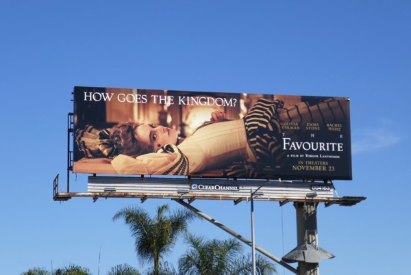 Favourite movie billboard