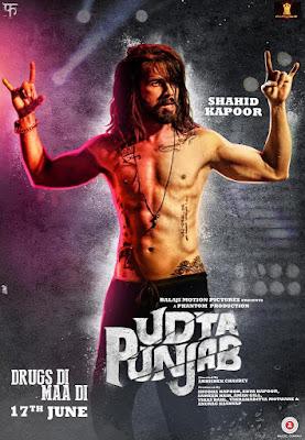 Udta Punjab 2016 Movie Poster   Shahid Kapoor