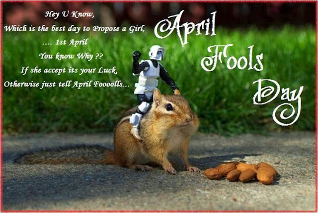 Top & Best April Fool's Day 2017 SMS, Quotes, Message, Wishes, Jokes & Pranks - Fact About April Fool's Day
