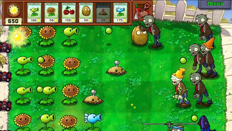 gratis plants vs zombie game of the year