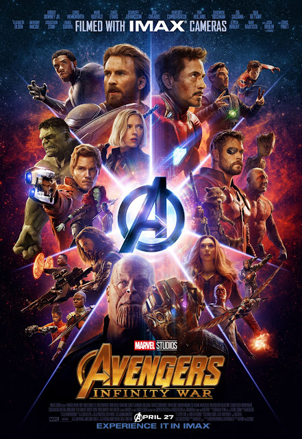 Marvel's Avengers: Infinity War IMAX Theatrical One Sheet Movie Poster