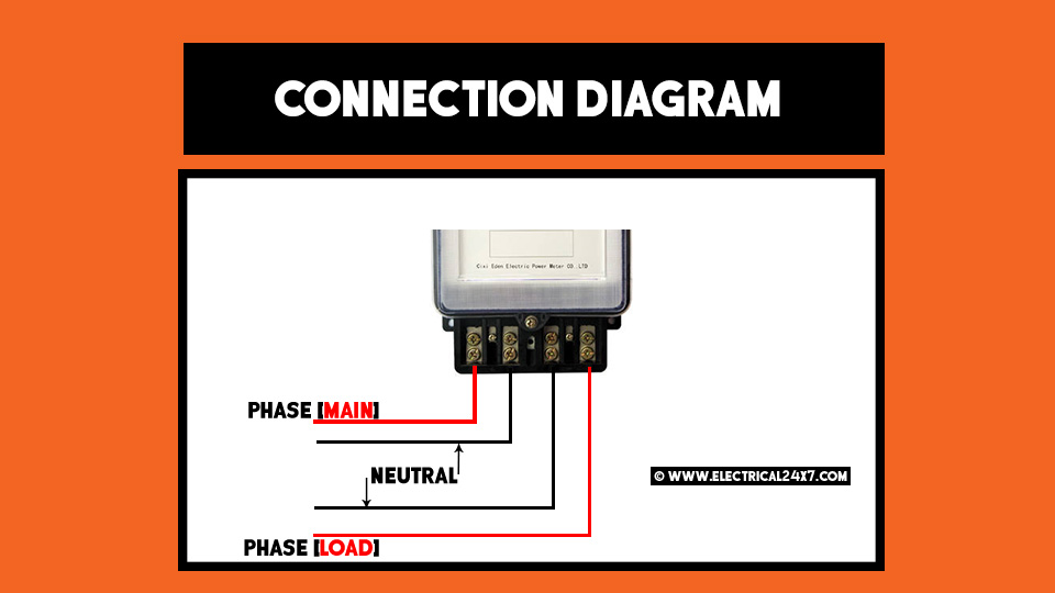 Wire Single Phase kWh meter how to wire 1 phase and 3 phase kwh meter ? single phase kwh meter wiring diagram at highcare.asia