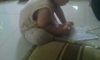 Aktifitas belajar membaca di bulan Ramadhan