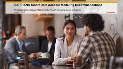 SAP HANA Smart Data Access: Modeling Recommendations