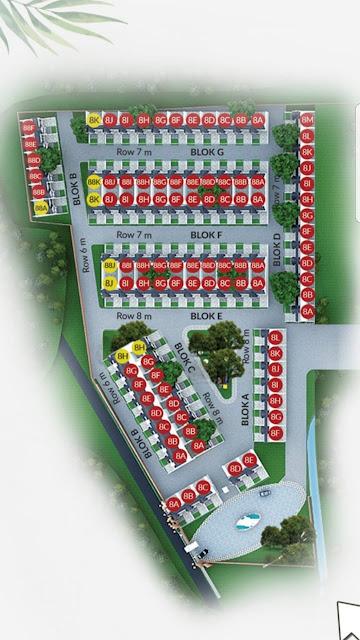 Site Plan Di Sunway City Residence Hunian Dengan Nuansa Resort Terbaik Dan Terbesar Di Tanjung Morawa Medan Sumatera Utara