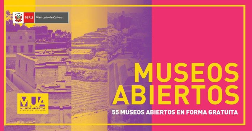 MUSEOS A NIVEL NACIONAL: Ingreso Libre Primer Domingo del Mes 2018 - www.cultura.gob.pe