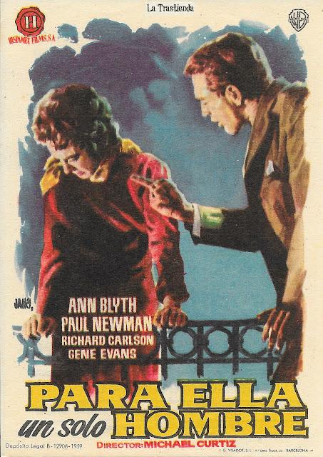 Para Ella un Solo Hombre - Programa de Cine - Paul Newman - Ann Blyth