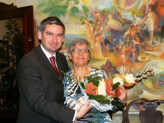 Vanja Andriollo i gradonačelnik Pule