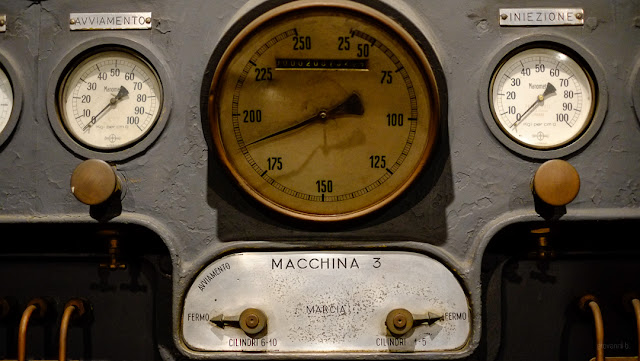 Dettaglio di macchinario del Museo Montemartini, Roma