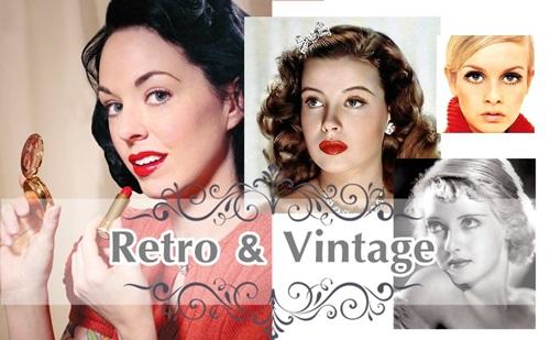 30 Imágenes de maquillaje vintage que te trasladaran a otra epoca