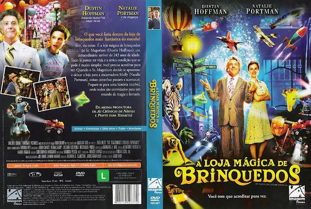 Capa DVD A Loja Mágica de Brinquedos