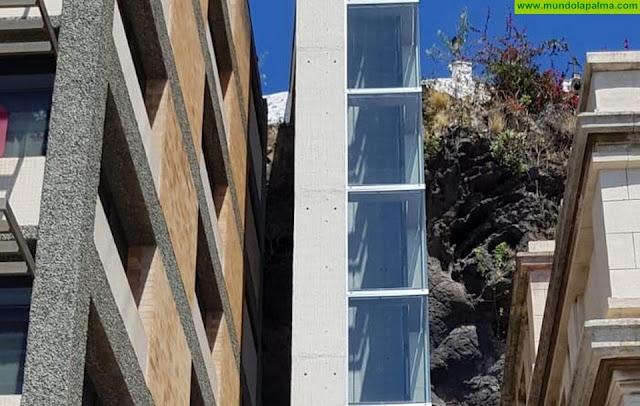 Santa Cruz de La Palma estrena el ascensor urbano