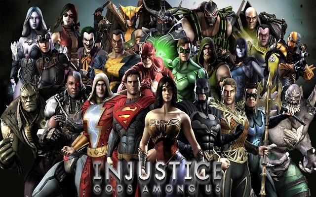 تحميل لعبة الأكشن Injustice Gods Among Us للأندرويد