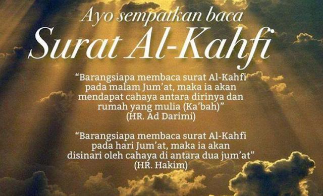 5 Keutamaan Membaca Surat Al-Kahfi, Terutama Hari Jum'at