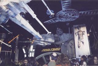 Star Wars inside FAO Schwarz.