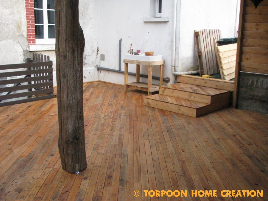 terrasse palette traitement. Black Bedroom Furniture Sets. Home Design Ideas