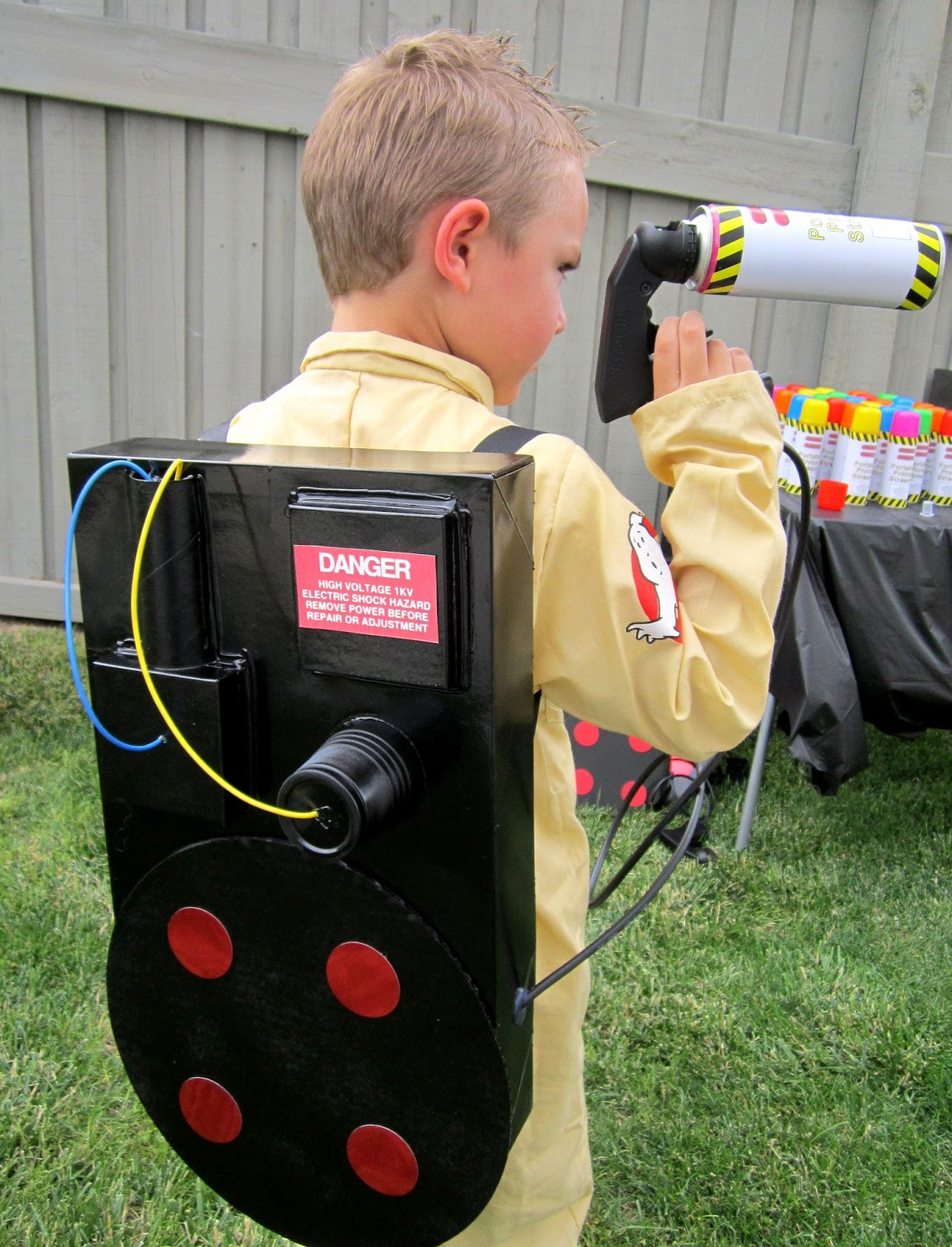 proton pack ghostbusters