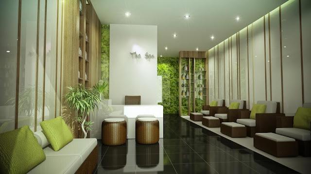 mô hình phòng spa