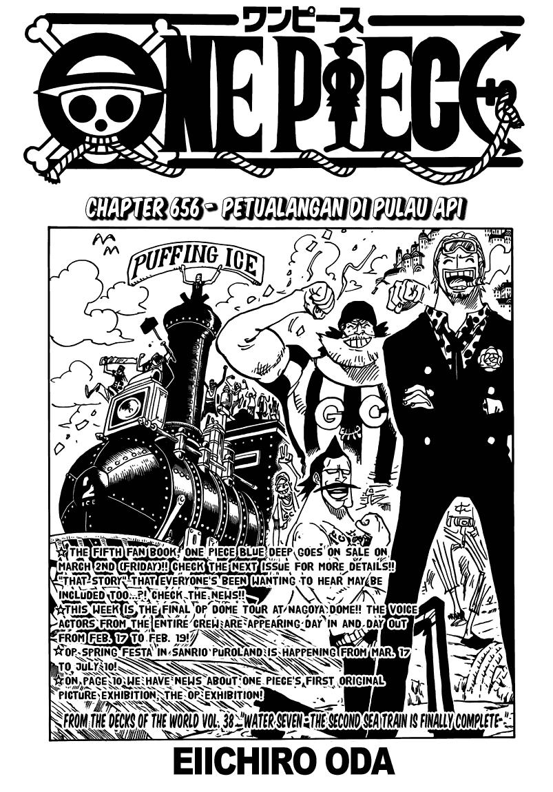 Page01 One Piece 656   Petualangan di Pulau Api