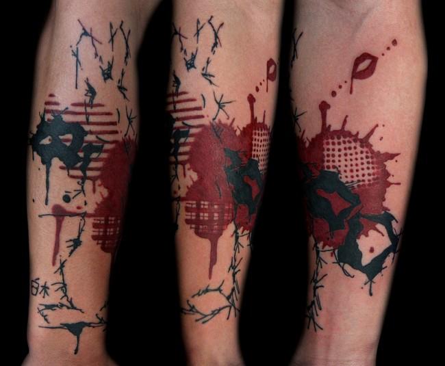 tatuaje de acuarela