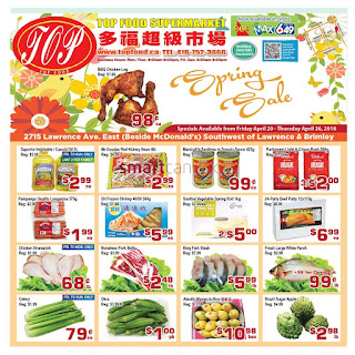 Top Food Supermarket Flyer April 20 - 26, 2018
