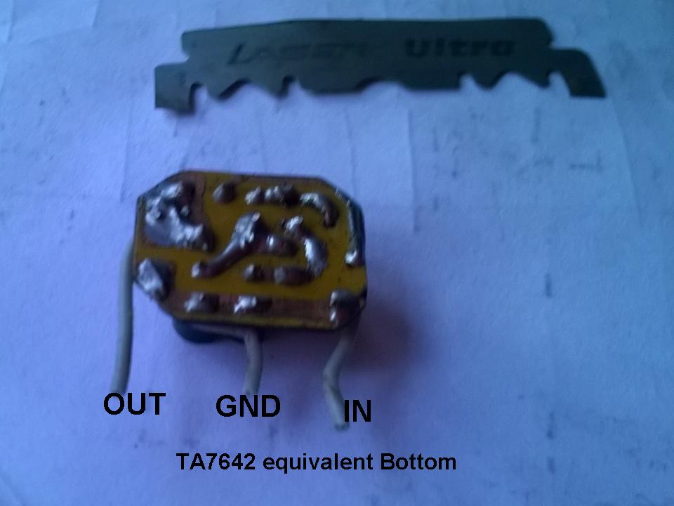 Am Receiver Circuit Using Mk484
