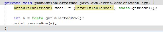 7 - Tutorial Java - Membuat Menu Popup dan Hide/Show Kolom Pada Jtable