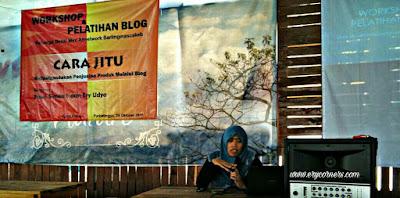 blogger kelas teri