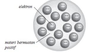 teori atom roti kismis