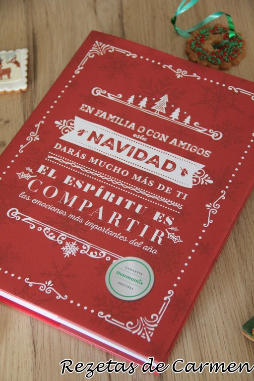 El libro La Navidad es tiempo de compartir, Thermomix