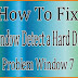 How To Fix Window Detected a Hard Disk Problem window 7