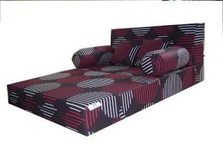 sofa bed kasur busa lipat inoac jakarta slipcovers clearance gudang inoac: