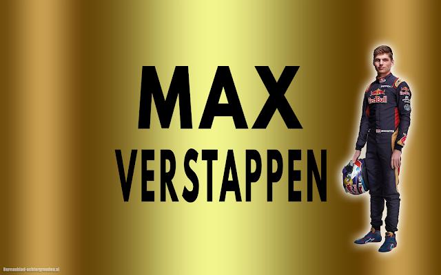 Formule 1 Gouden Max Verstappen wallpaper