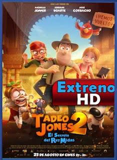 Tadeo Jones 2: El secreto del Rey Midas (2017) DVDRip Latino HD GDrive 1 Link