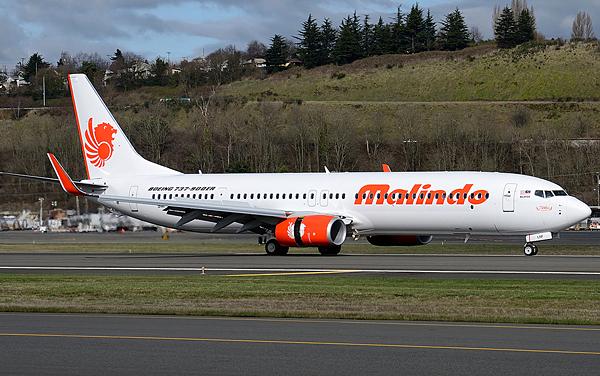 Boeing 737-900ER Malindo Air