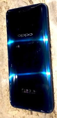 Tampilan belakang OPPO Find X