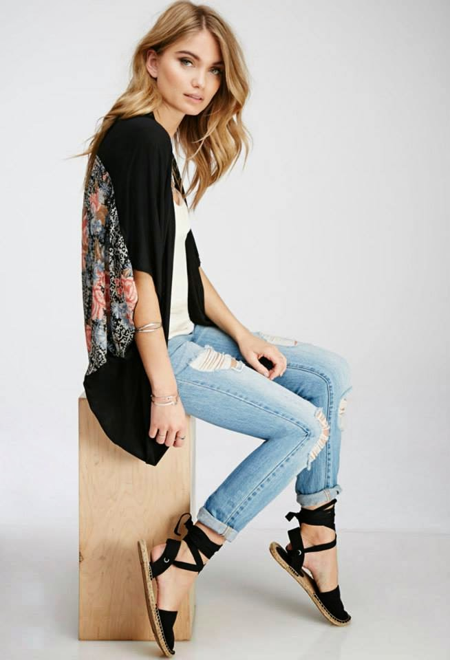 Forever 21 'The Spring Collection' Lookbook 2015