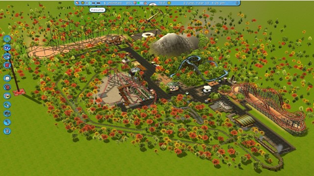 Download Roller Coaster Tycoon 3 Platinum PC Games Gameplay