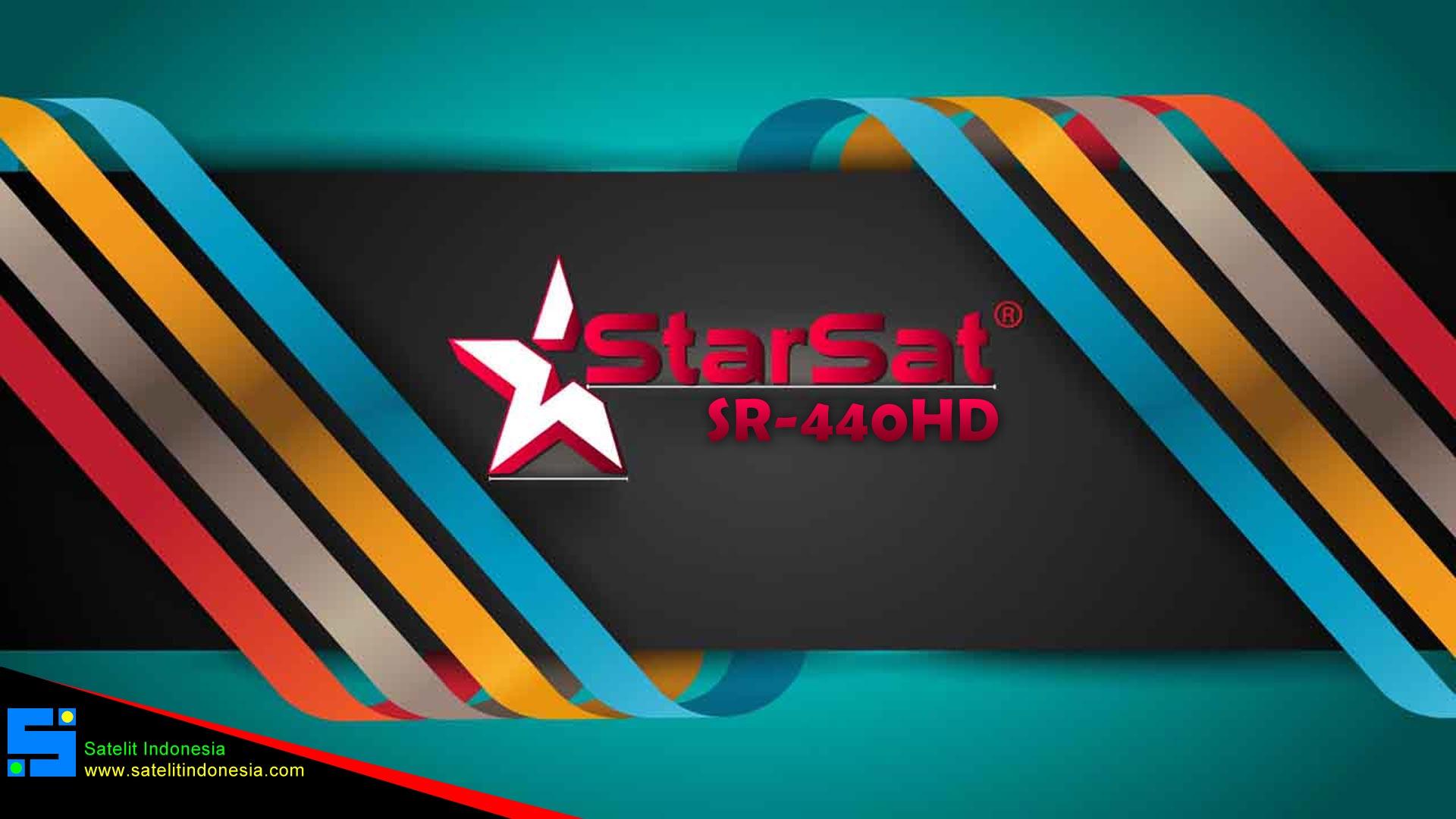 Starsat SR-440 HD Software New Update Firmware Receiver