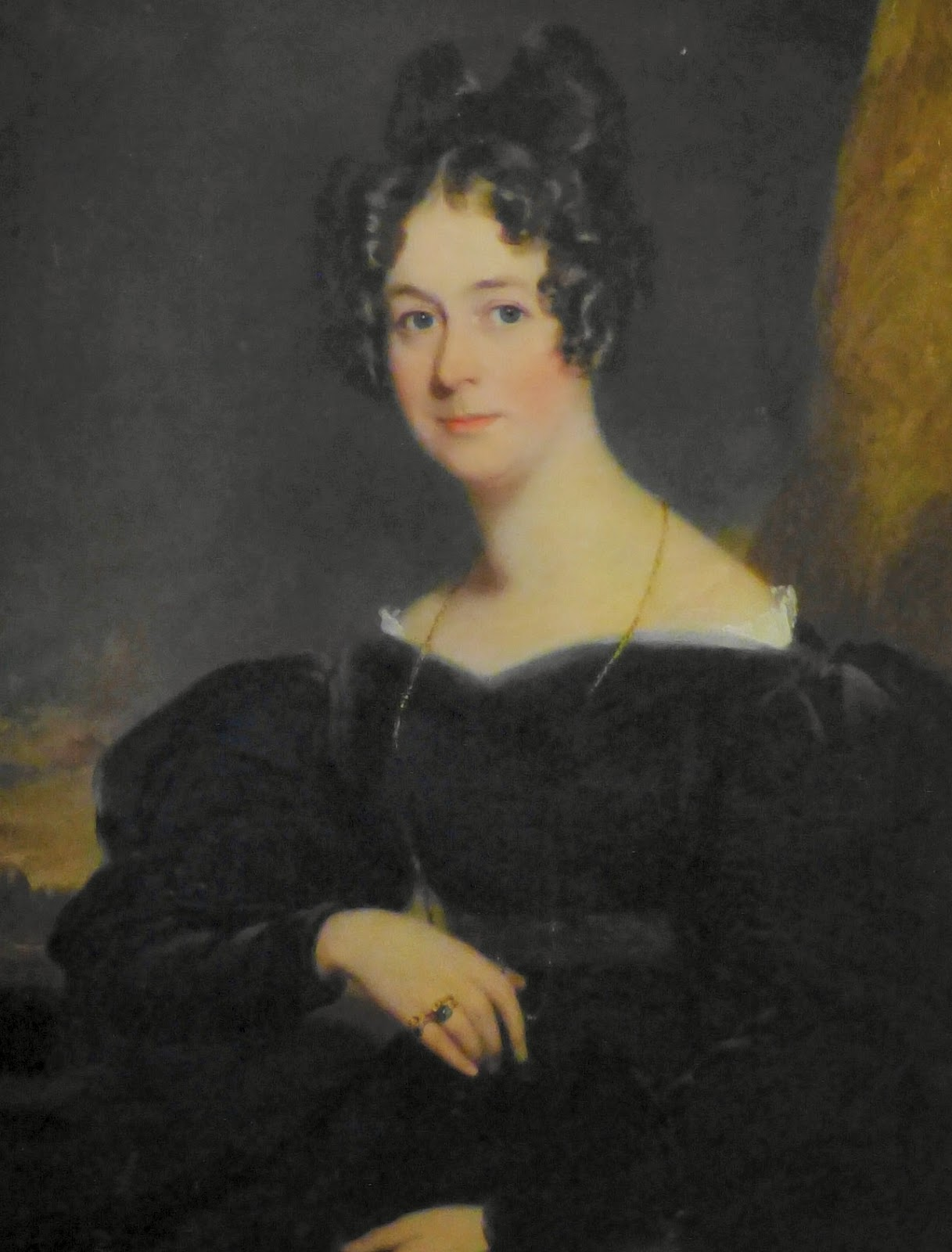 Frances Parker (née Talbot)  by Frederick Richard Say (1830)