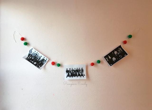 DIY Kpop Pom Pom Banner