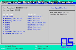 Information and Benefits of BIOS on Laptop Computers
