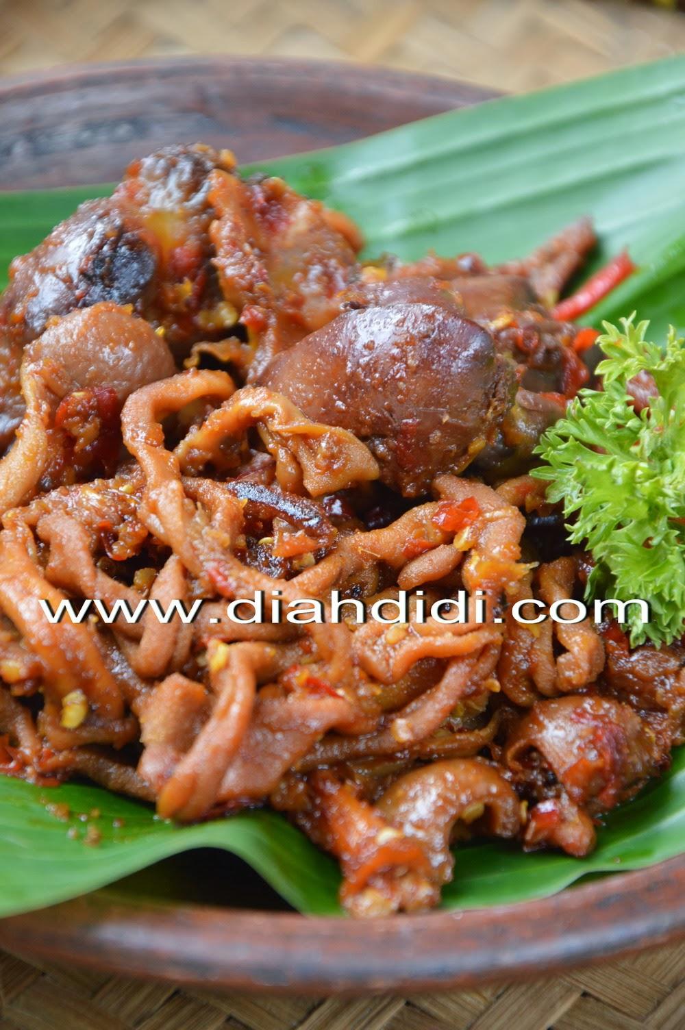 Resep Masak Jeroan Ayam : resep, masak, jeroan, Didi's, Kitchen:, Ampela, Bumbu, Pedas, Manis