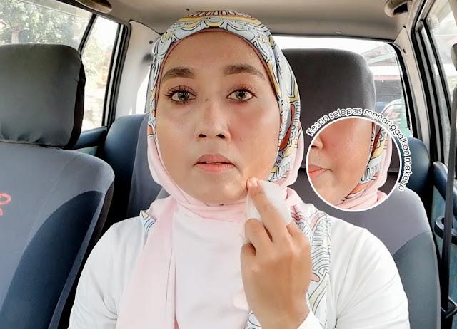 Imaan Suci Wipes - Tisu Basah Tanggalkan Makeup Dengan Mudah
